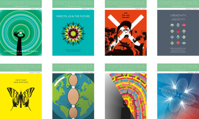 Some of the Contributoria covers