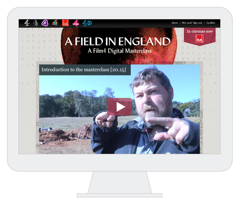 A Field in England Masterclass homepage