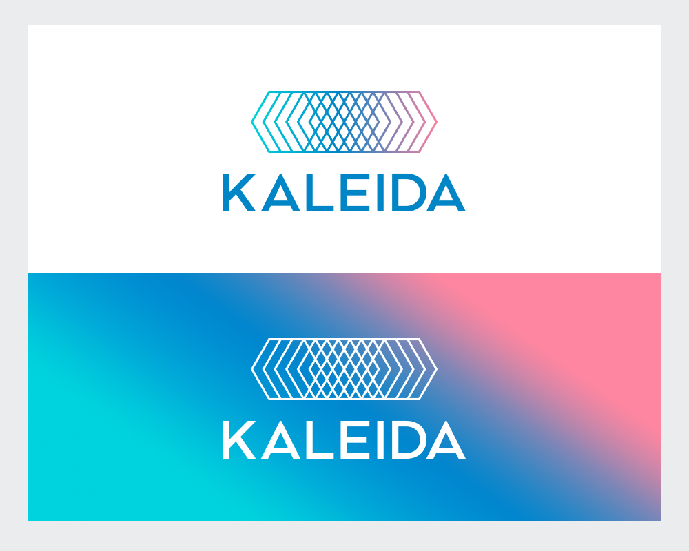 Kaleida logo design