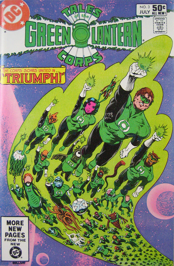 Cover of Green Lantern comic