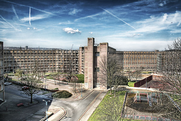 Park Hill in Sheffield, photo by Paolo Margari