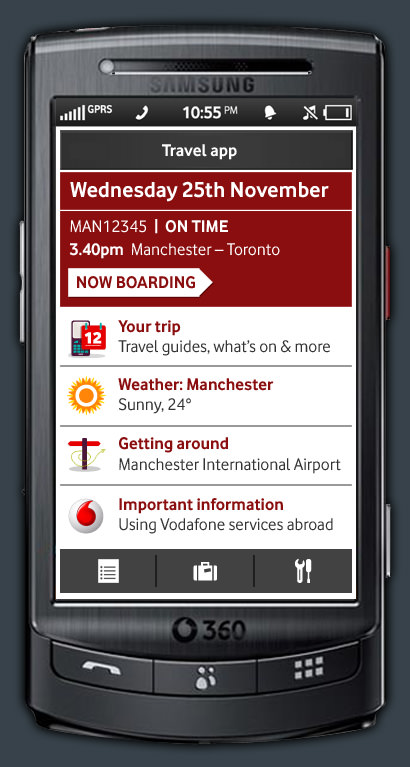 Vodafone Travel on 360